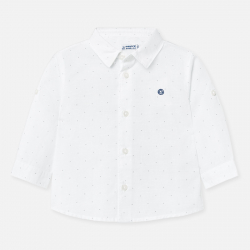 MAYORAL elegáns fehér kisfiú ing 117-082
