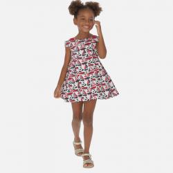 Nyári kislány ruha MAYORAL 3940-003 Red