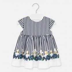 MAYORAL mintás kislány ruha 1920-097