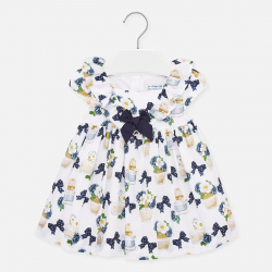 MAYORAL mintás kislány ruha 1924-097