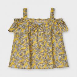 MAYORAL kislány ujjatlan blúz 3194-011 mustard