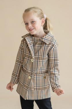 Kislány átmeneti kabát